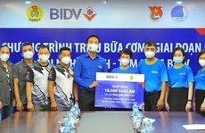 BIDV trao 18.000 suất cơm tặng đồng bào khó khăn tại TP Hà Nội