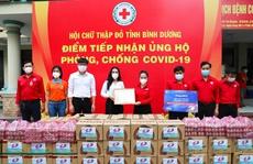 Quỹ Từ thiện Kim Oanh tiếp tục hỗ trợ người dân vùng dịch