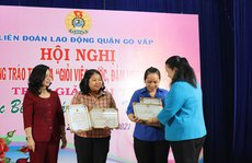 Tuyên dương 278 nữ CNVC-LĐ 'Giỏi việc nước - đảm việc nhà'