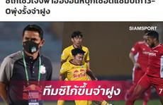 Báo Thái Lan ca ngợi HLV Kiatisak sau khi HAGL đè bẹp ĐKVĐ Viettel
