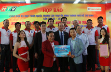 Giải đua xe đạp Cúp Truyền hình TP HCM - Tôn Đông Á 2021: Tiền thưởng kỷ lục gần 2 tỉ đồng