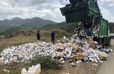 Khánh Hòa: Thiêu hủy hàng vạn bao thuốc lá nhập lậu