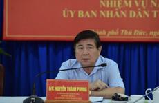 Chủ tịch Nguyễn Thành Phong: TP Thủ Đức phải thu ngân sách vượt quận 1