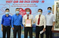 Vinasun Taxi quyên góp ủng hộ chương trình mua vacxin phòng, chống Covid-19