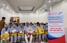 Doanh nhân Lê Thị Giàu giúp bệnh nhân nghèo mổ mắt