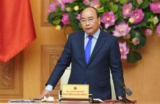 Thủ tướng Nguyễn Xuân Phúc chủ trì phiên họp Chính phủ cuối cùng trước khi kiện toàn