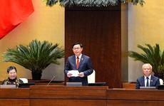 Tân Chủ tịch Quốc hội Vương Đình Huệ bắt đầu điều hành kỳ họp thứ 11 Quốc hội khóa XIV