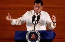 Tổng thống Duterte vắng bóng bí ẩn