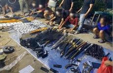 Lộ kho vũ khí 'khủng' trong nhà đối tượng cộm cán ở TP Biên Hoà