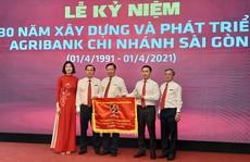 Agribank chi nhánh Sài Gòn tổ chức Lễ kỷ niệm 30 năm thành lập