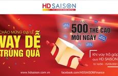Mở quà mừng đại lễ cùng HD SAISON
