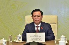 Cuộc điện đàm đầu tiên của Chủ tịch Quốc hội Vương Đình Huệ