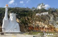 Yêu cầu dừng thi công tượng 'Nữ thần tự do' gây tranh cãi ở Sa Pa
