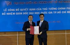 Tân giám đốc ĐHQG TP HCM công bố 3 nhiệm vụ trọng tâm