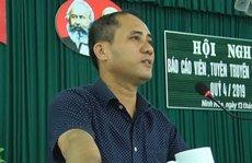 Khởi tố vụ án bí thư phường bị đâm chết ở Khánh Hòa