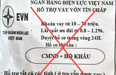 EVN lên tiếng về 'Ngân hàng Điện lực Việt Nam hỗ trợ vay vốn tín chấp'