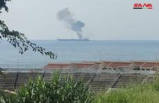 'Tàu chở dầu Iran' bị tấn công ngoài khơi Syria, 3 người chết
