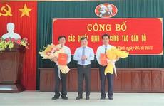 Quảng Bình: Chỉ định ông Trần Quốc Tuấn làm Bí thư huyện ủy Quảng Ninh