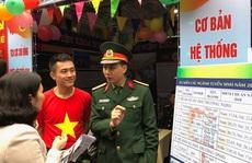 Bộ Quốc phòng kéo dài thời gian sơ tuyển vào các trường quân đội