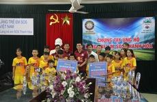HAGL tặng gần 120 triệu đồng tiền bán áo đấu của Lương Xuân Trường cho Làng SOS Thanh Hóa