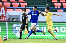 Nam Định nhảy lên top 3, B.Bình Dương thảm bại trước đội cuối bảng