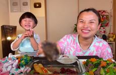 Quỳnh Trần JP lên tiếng sau vụ ăn bàn chân gấu: Làm để nuôi gia đình
