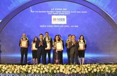 SHB tiếp tục được vinh danh Top 50 doanh nghiệp tăng trưởng xuất sắc nhất Việt Nam
