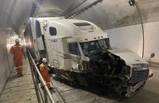 Tài xế gây tai nạn trong hầm Hải Vân 2: Rất may xe di chuyển trong đường hầm 1 chiều