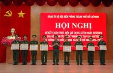 Bộ đội biên phòng TP HCM xây dựng vững chắc thế trận 'Biên phòng toàn dân'