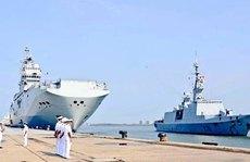 Pháp tập trận hải quân với 'Bộ tứ'