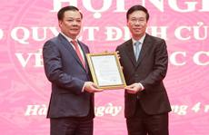Công bố quyết định của Bộ Chính trị phân công ông Đinh Tiến Dũng làm Bí thư Thành ủy Hà Nội