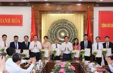 Thanh Hóa điều động, bổ nhiệm 9 lãnh đạo thuộc diện Ban Thường vụ quản lý