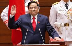 Tân Thủ tướng Chính phủ Phạm Minh Chính tuyên thệ nhậm chức