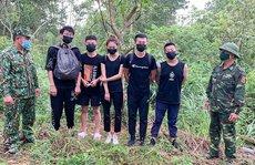 NÓNG: 9 người Trung Quốc nhập cảnh trái phép vào đến tận Quảng Bình