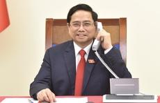 Tân Thủ tướng Phạm Minh Chính điện đàm với Thủ tướng Lào, Campuchia