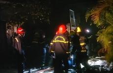 Cảnh sát PCCC-CNCH Công an TP HCM thông tin về vụ cháy xưởng nhựa