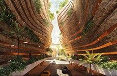 Khi kiến trúc kết hợp nghệ thuật đương đại