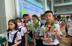 Học sinh TP HCM học bảo vệ môi trường trong ngày hội tiếng Anh