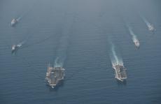Mỹ đưa lực lượng hùng hậu đến biển Đông
