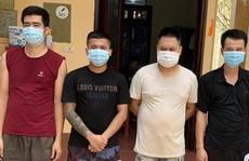 Nhóm thanh niên trốn vào nghĩa trang sát phạt khi dịch Covid-19 đang phức tạp