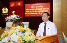 Chủ tịch Quốc hội Vương Đình Huệ: Không để dịch Covid-19 lây nhiễm trong bầu cử