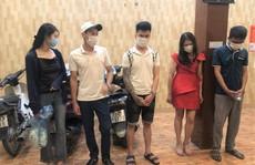 Bắt quả tang 5 thanh niên nam, nữ thuê nhà nghỉ làm chuyện 'mờ ám'