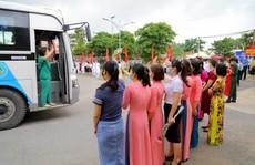 200 bác sĩ, nhân viên y tế Quảng Ninh chi viện cho Bắc Giang