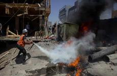 Israel không kích tan tành đường hầm, nhà chỉ huy Hamas