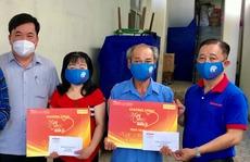 'Mai Vàng nhân ái' thăm 2 nghệ sĩ ở Tây Ninh
