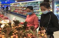 Trái vải tươi đầu mùa lên kệ hàng siêu thị, giá thấp nhất 21.900 đồng/kg