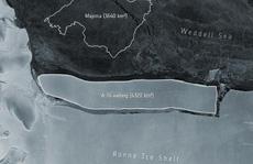 Phát hiện tảng băng trôi lớn nhất thế giới tách khỏi Nam Cực
