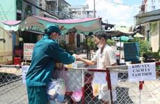 Liên quan ca nghi mắc Covid-19 tại TP HCM: Phong tỏa 72 hộ dân ở Bình Tân