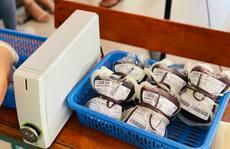 Trong vài ngày tới, kho dự trữ máu tại TP HCM sẽ giảm đến ngưỡng báo động