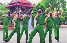 Học viên Học viện cảnh sát gây sốt với vũ điệu 'Tôi đi bầu cử'